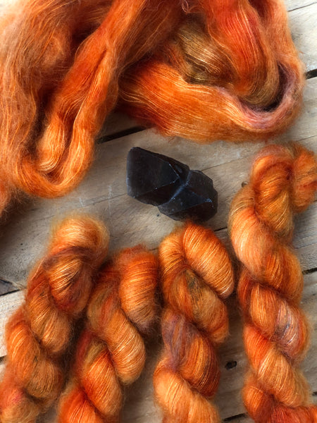 Mother Of Dragons - Poseidon: 72% Kid Mohair 28% Silk - Lace