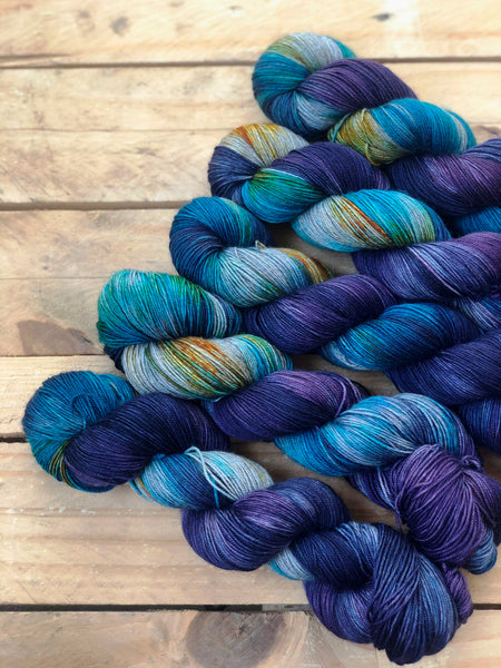 Do You Trust Me? - Yama: 70% Superwash Merino 20% Yak 10% Nylon - Sock