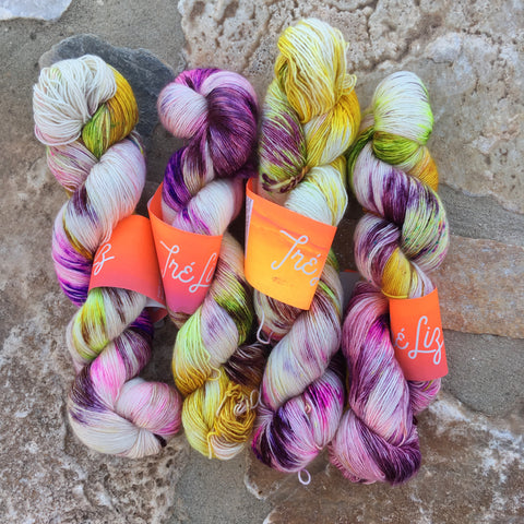 Wario - Psyche - 50% Superwash Merino 50% Silk - Single Fingering