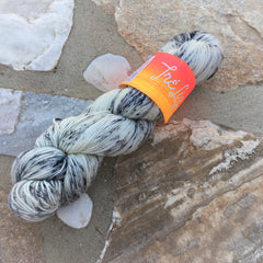 Warhol - Asteria: 75% Superwash Merino 20% Nylon 5% Gold Stellina - Sock