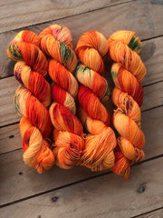 The Key - Titan: 100% Superwash BFL High Twist - Fingering