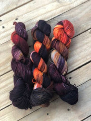 Arabian Nights - Titan: 100% Superwash BFL High Twist - Fingering