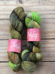 Hypnosis - Titan: 100% Superwash BFL High Twist - Fingering