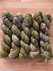 Outlander - Gaia: 85% Superwash Merino 15% Donegal Nep - DK