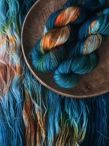 Valar Morghulis - Titan: 100% Superwash BFL High Twist - Fingering
