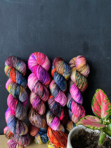 Confessions  - Zeus: 100% Superwash Merino Single - Fingering