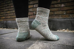 """Meandros"" Kit by Skeindeer Knits"
