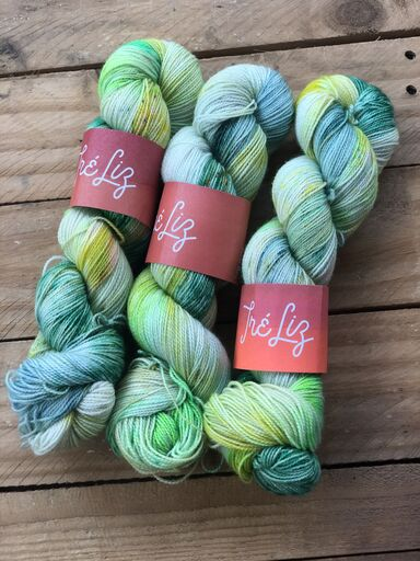 Mojito - Titan: 100% Superwash BFL High Twist - Fingering
