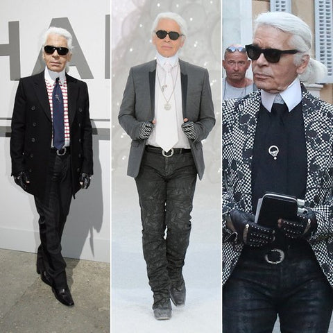 Karl Lagerfeld style icon