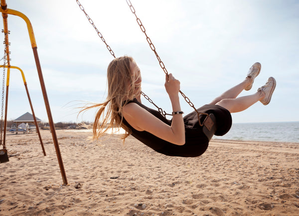 Swinging to happiness