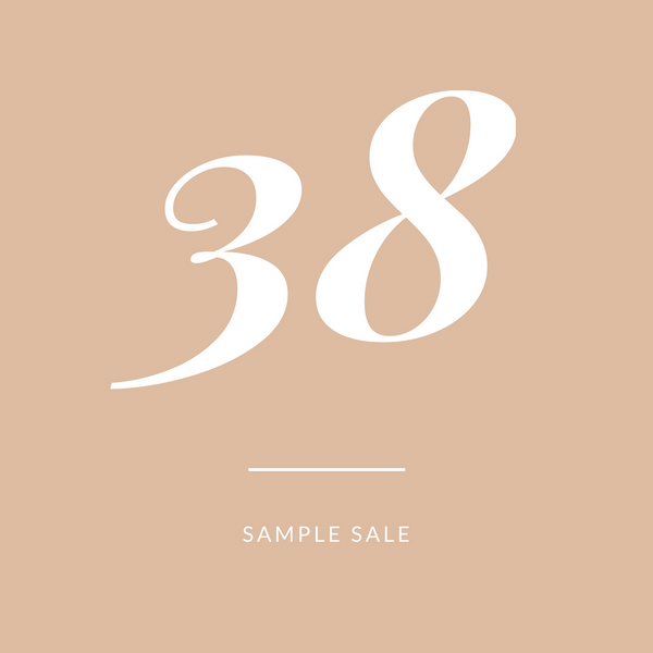 Sample Sale - size 38 sandals Alasia Lifestyle
