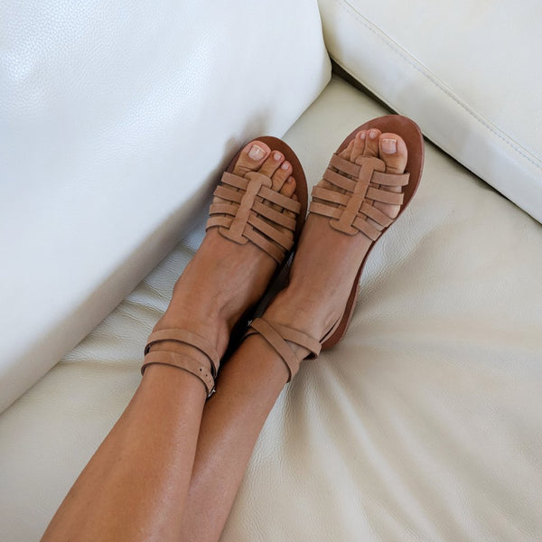 Nissi Gladiator sandals - customise your colours, by Alasia Lifestyle