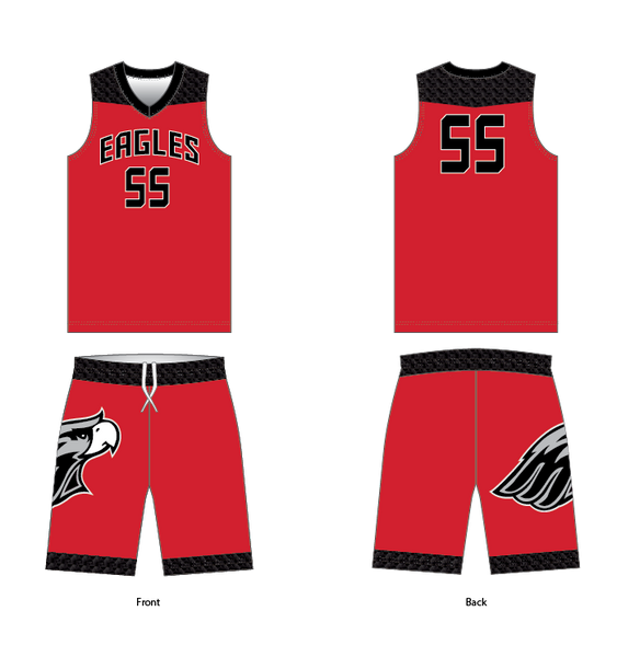 D40 FUSION WILDCATS Basketball Game Uniform