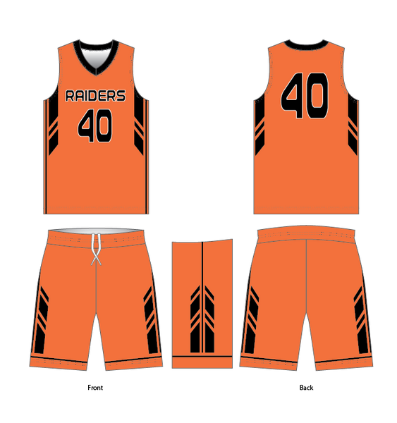 D40 FUSION WINGS Basketball Game Uniform