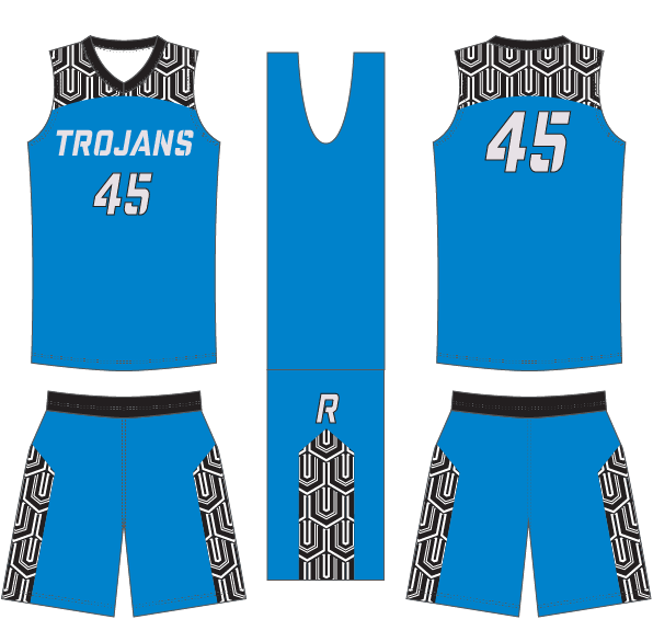 D40 FUSION ALLSTAR24 Basketball Game Uniform