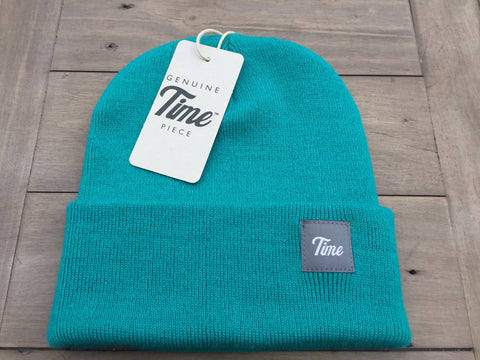 Time Cuffed Beanie Teal