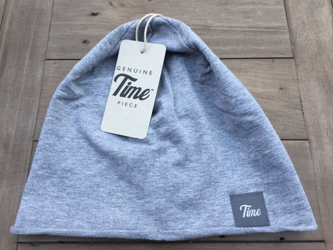Time Jersey Beanie Grey