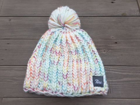 Time Girls Pom Pom Beanie Arctic SOLD OUT