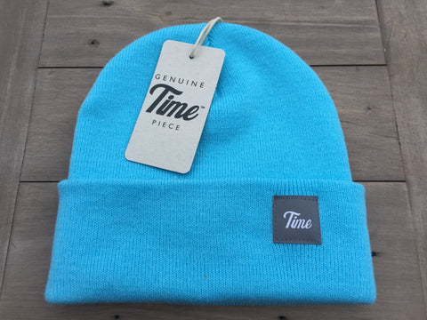 Time Cuffed Beanie Surf Blue