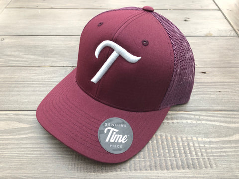 Time T Trucker Maroon