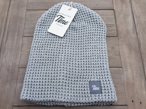Time Waffle Beanie Grey SOLD OUT