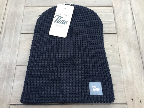 Time Waffle Beanie Navy
