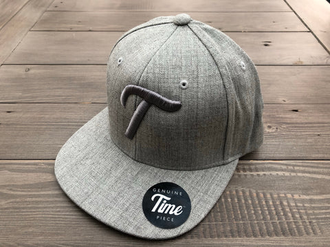 Time T SnapBack Heather Grey