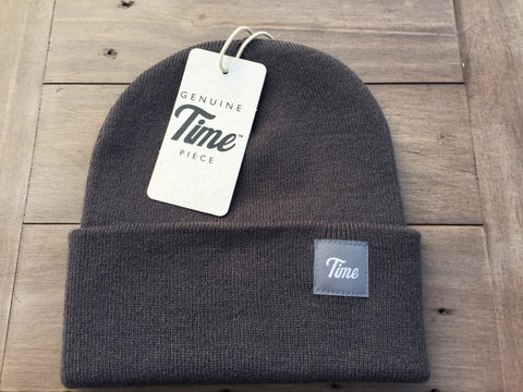 Time Cuffed Beanie Grey