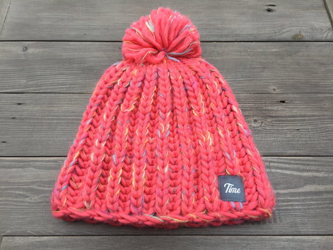 Time Girls Pom Pom Coral