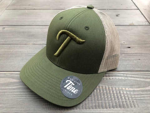 Time T Trucker Olive