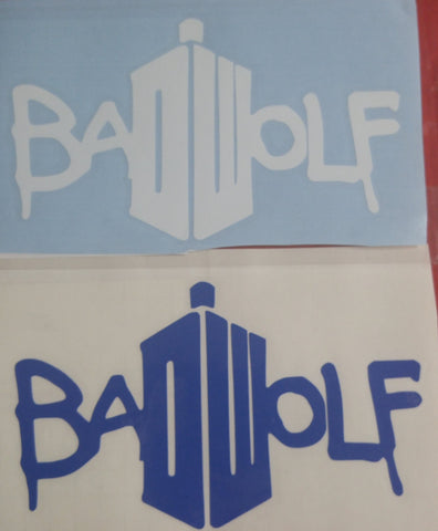 Bad Wolf Vinyl Decals