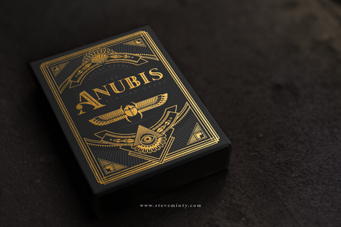 Anubis & Osiris Playing Cards