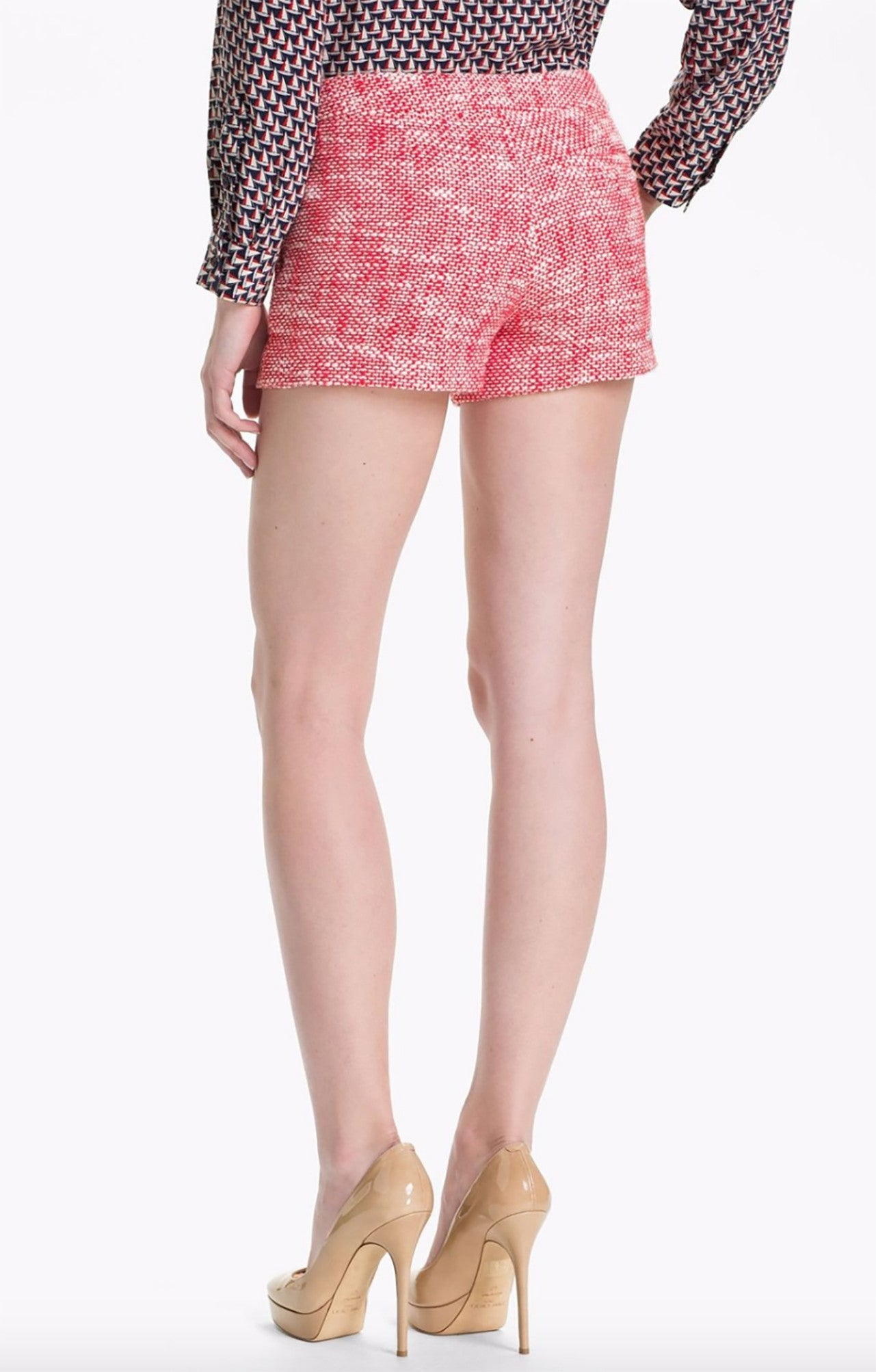 "Joie ""Merci"" Cotton Cherry Shorts, Size 10-NWT"