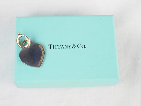 Tiffany & Co. Sterling Silver Heart Charm