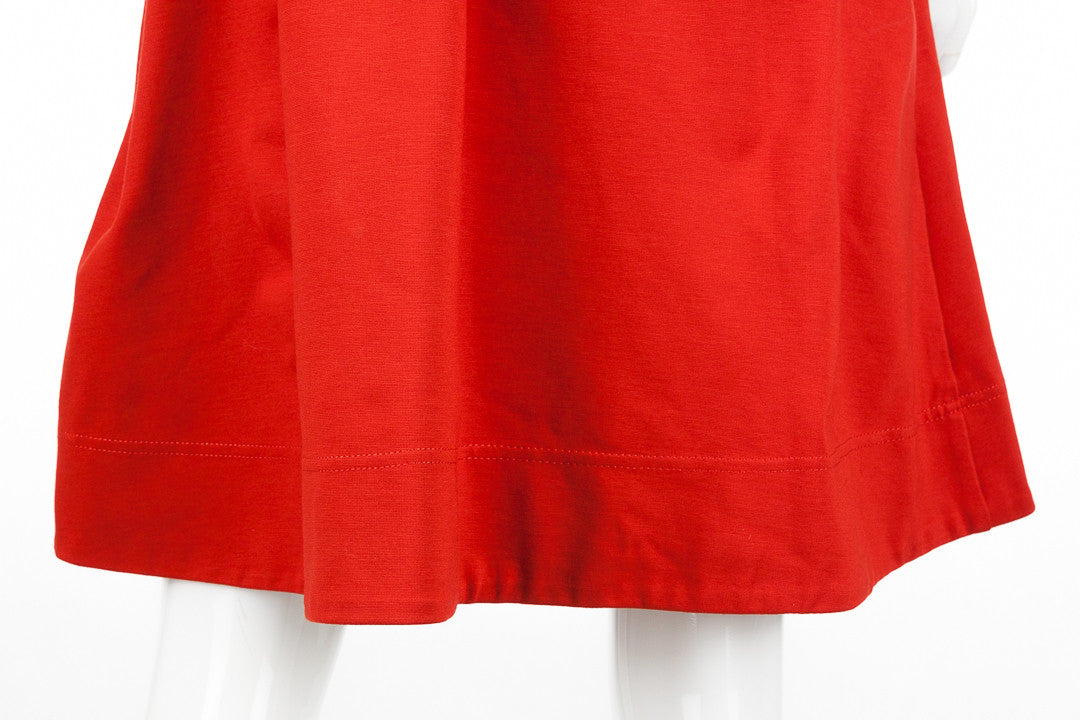 Marc by Marc Jacobs Cherry Red Belted Back Shift Dress, Size M