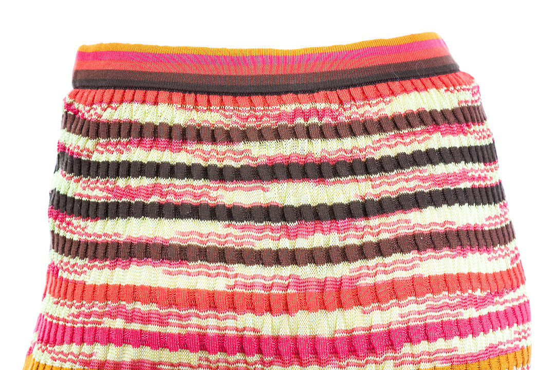 Missoni M Knit Striped Skirt - Size 40