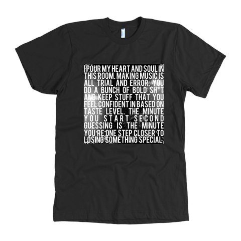 HEART AND SOUL (LIMITED EDITION T-SHIRT)