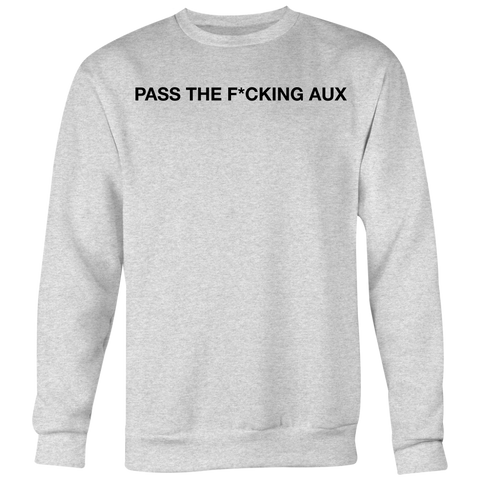"""PTA 2019 TOUR"" (Limited Edition Crew-neck Sweater) LIGHT GREY"