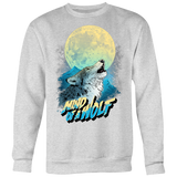 MIND OF A WOLF BlueMoon (Limited Crewneck Sweater)