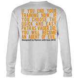 """AGENT EVIL"" (Limited Edition Crew-neck Sweater"
