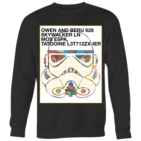 """LET GO OF EVERYTHING"" (Limited Edition Crew-neck Sweater)"