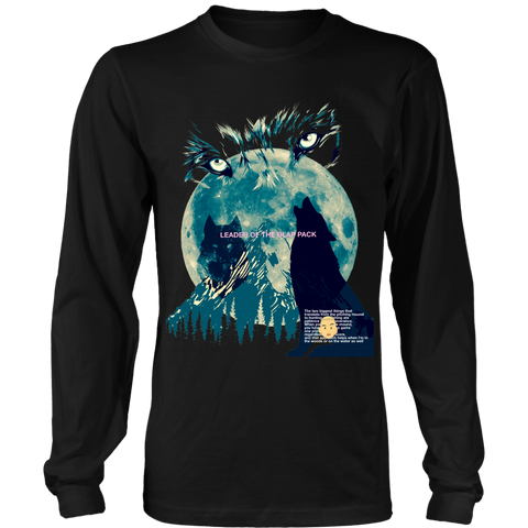 RAW WOLF (Limited Edition Long Sleeve Shirt)