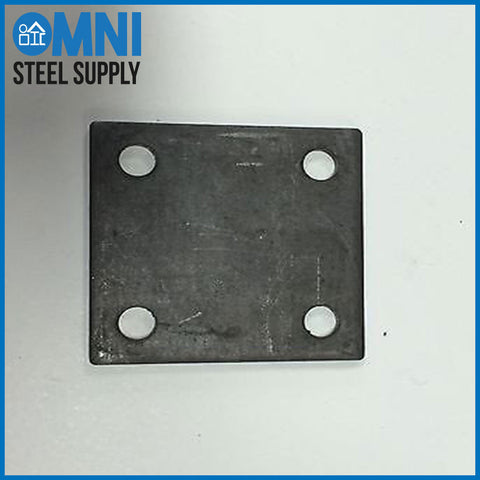 PRE-DRILLED STEEL BASE PLATE