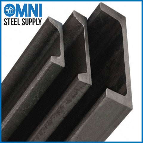 "Steel Channel 1-1/4"" x 1/2"" x 1/8"""