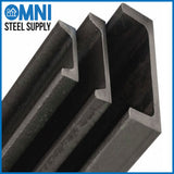 "Steel Channel 1"" x 1/2"" x 1/8"""