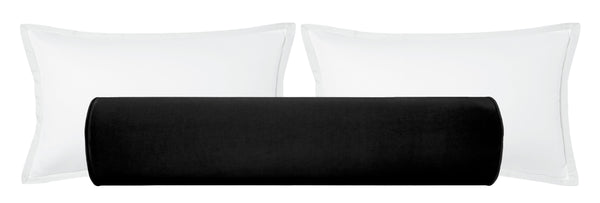 The Bolster :: Classic Velvet // Ebony