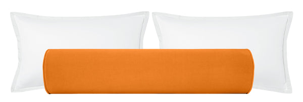 The Bolster :: Classic Velvet // Hermés Orange
