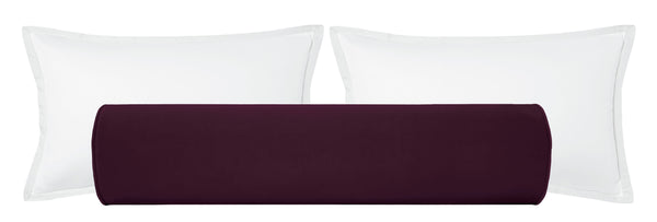 The Bolster :: Classic Velvet // Mulberry