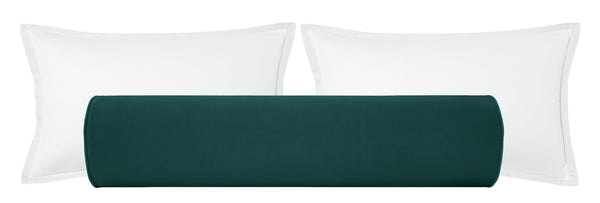 The Bolster :: Classic Velvet // Peacock