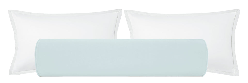 The Bolster :: Classic Velvet // Spa Blue